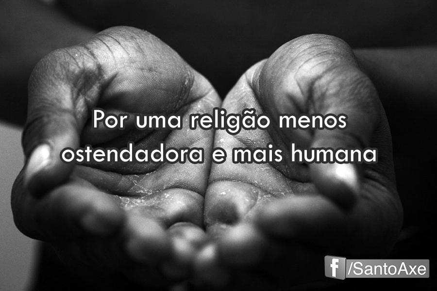 caridade O esquecimento do princípio básico da religião