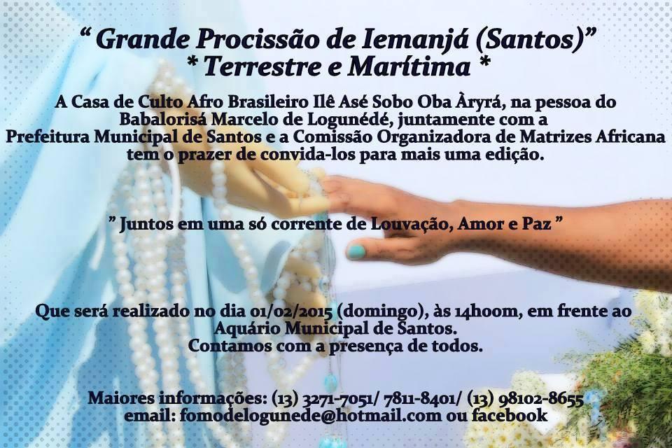 15914 845746512115255 8312227532329636348 n Procissão de Iemanjá de Santos